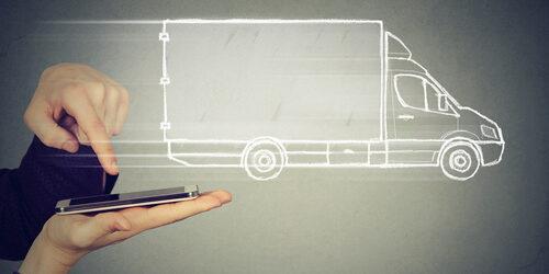 delivery service via modern technology