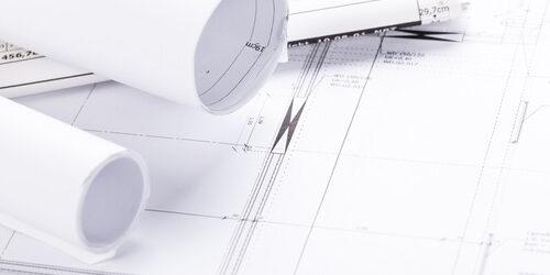 architektur werkzeug stift lineal messzirkel objekte bauplan